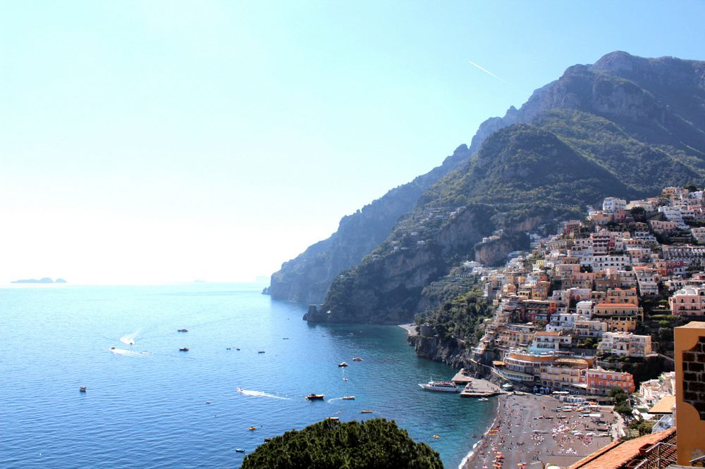 Positano seen by south