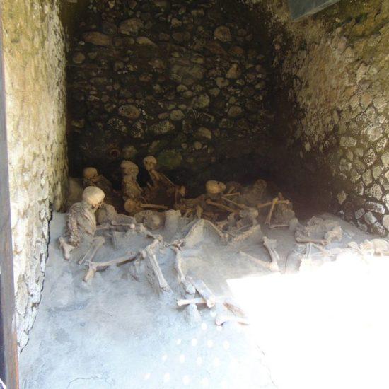 Bons found in Ercolano ruins