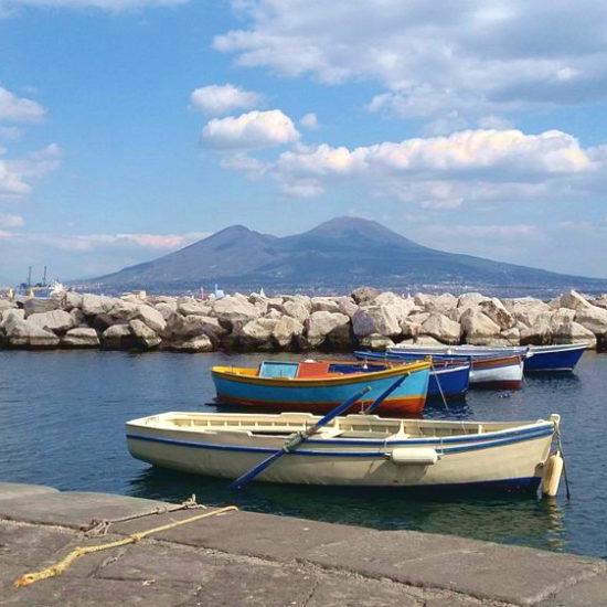 Mare e Vesuvio